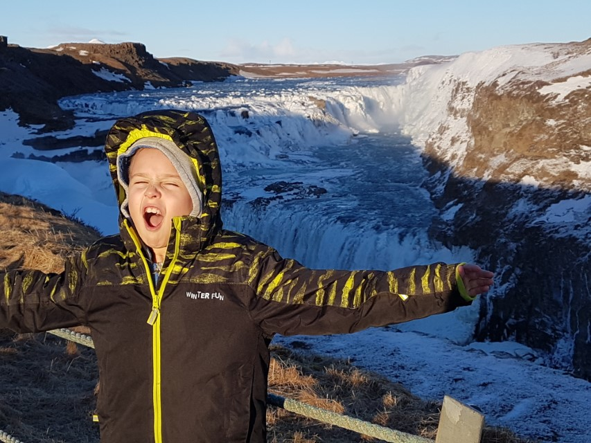 Izland gyerekekkel
